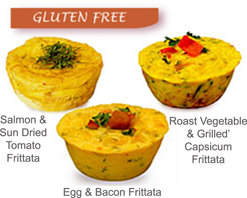 Gluten Free - Cocktail Frittatas Mixed Pack