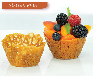 Brandy Snap Baskets