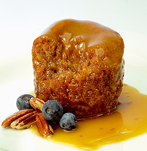 Self Saucing - Butterscotch Pecan Pudding