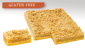 Gluten Free - Apple Crumble Tray Cake